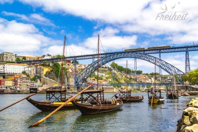 Die Ponte Luís I in voller Pracht :)