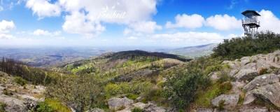 Panorama mit Gipfel des Picota