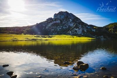 Wunderschöner Lago de la Ercina