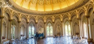 Der Musiksaal, der noch heute für Konzerte genutzt wird