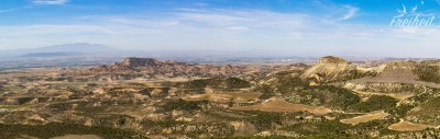 Blick vom Kloster Sancho Abarca