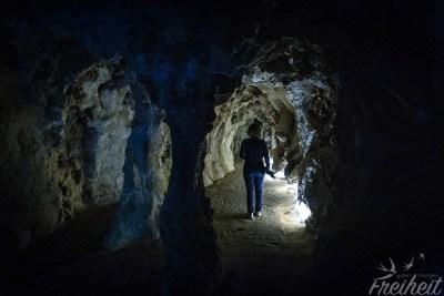 ...und von da aus durch unterirdische Wege wieder ans Tageslicht