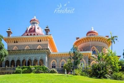 Der exotische Palast von Monserrate