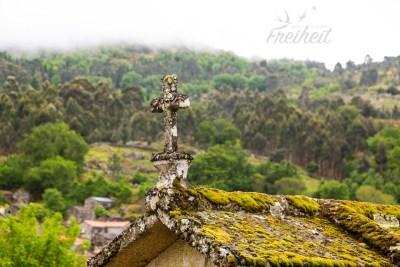 Die Espigueiros werden oft fälschlicher Weise für Gräber oder andere religiöse Bauten gehalten