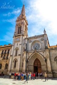 Die Kathedrale von Bilbao