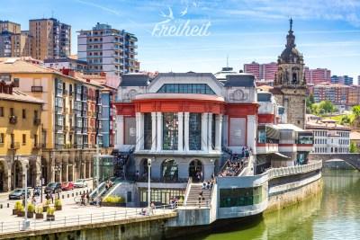 Mercado de la Ribera - die größte überdachte Markthalle Europas