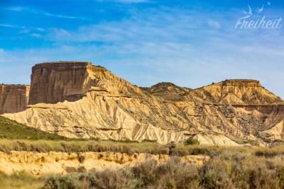 Faszinierende Abbrüche, Formationen und Sedimentschichten