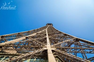 Blick zur Spitze von der obersten (Touristen) Etage