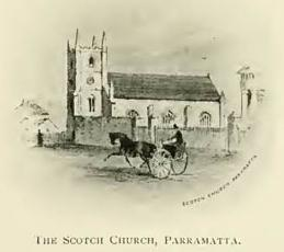 The Scotch Church, Parramatta.