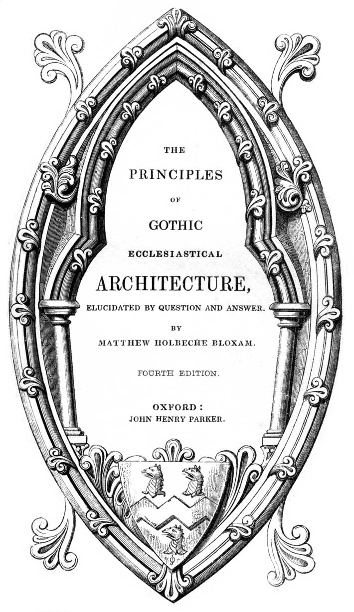 The Project Gutenberg eBook of The Principles of Gothic