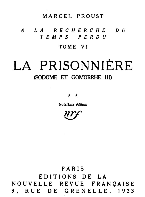 Truc Comment Anéantir Les Ronces : comment, anéantir, ronces, Project, Gutenberg, EBook, Prisonnière, (Sodome, Gomorrhe, III),, Marcel, Proust.