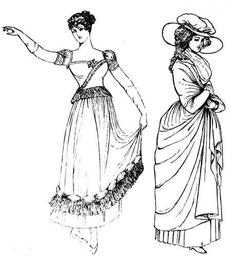 The Project Gutenberg eBook of The Evolution of Fashion, by Florence Mary Gardiner.