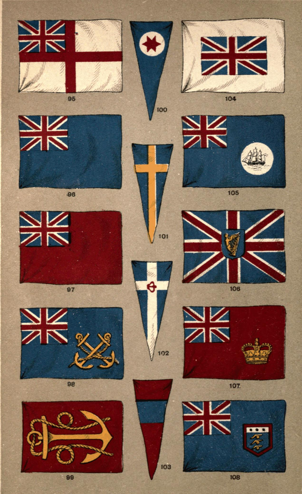 The Project Gutenberg EBook Of The Flags Of The World By
