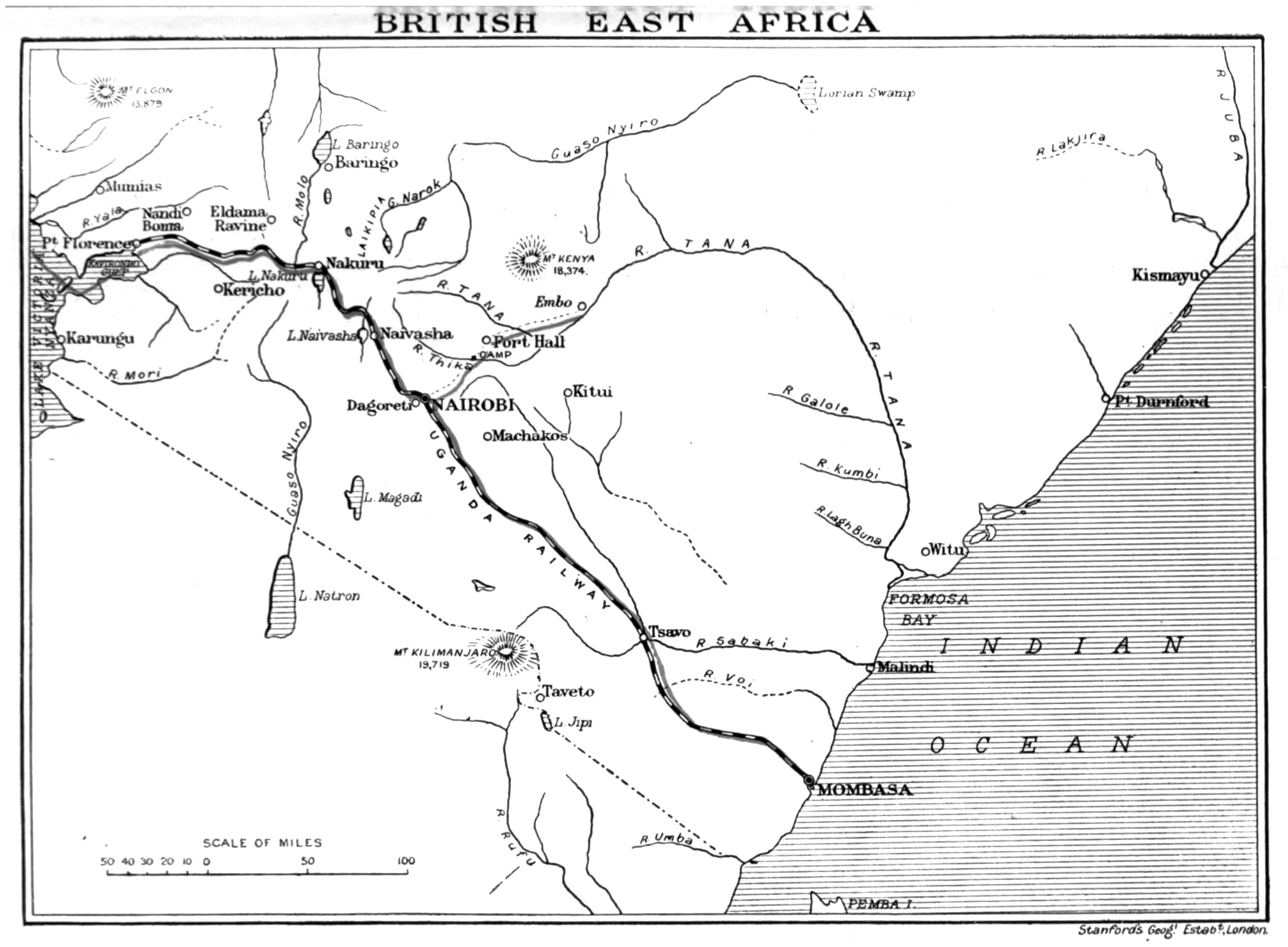 The Project Gutenberg Ebook Of My African Journey By