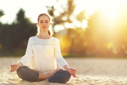 Image result for woman meditate