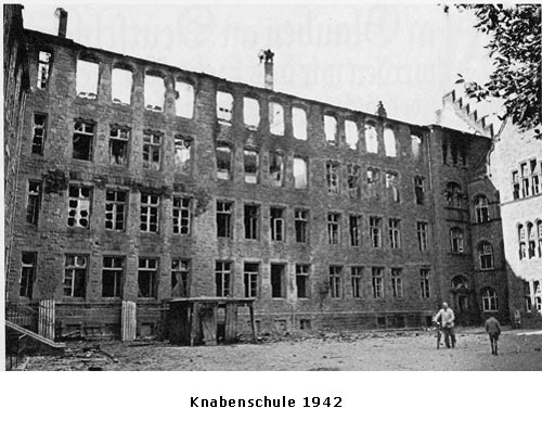 Knabenschule 1942