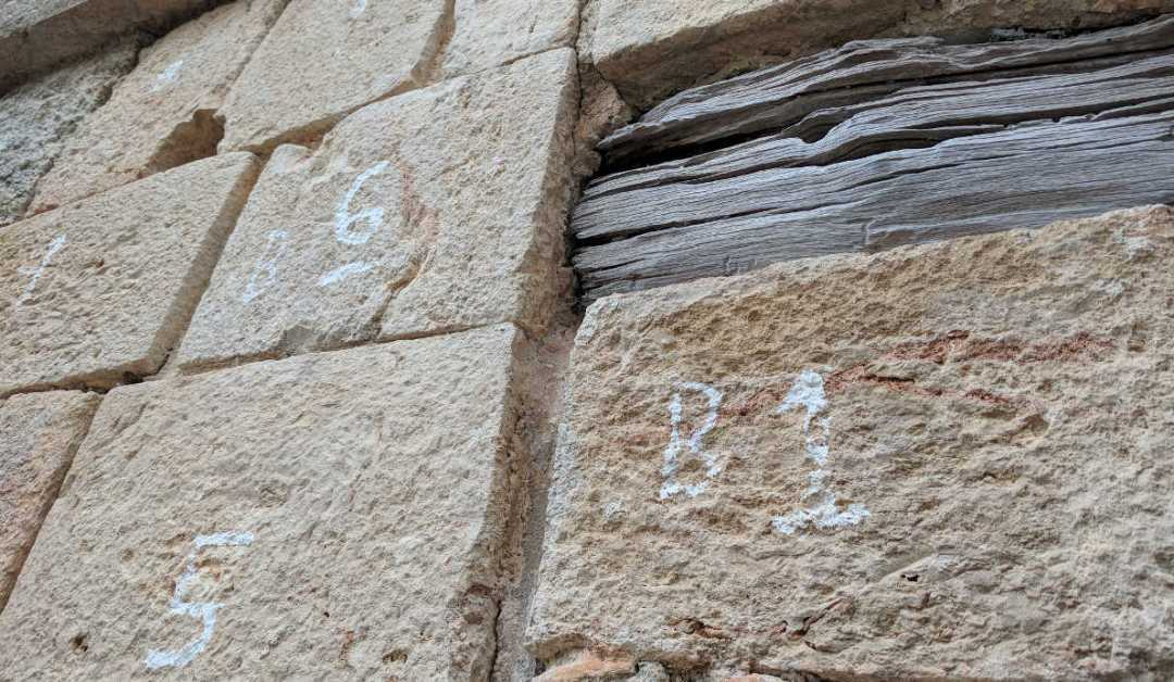 Uxmal Mayan Temple Blocks by Birgit Pauli-Haack