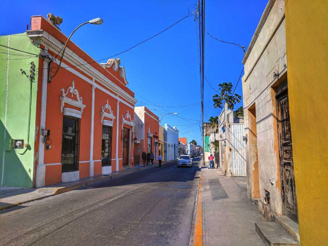 Blocks in Merida, Mexico