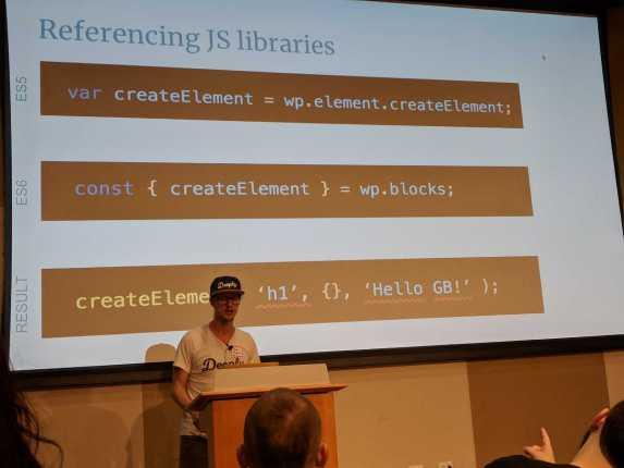 Gutenberg Developers Workshop at WordCamp Miami2018