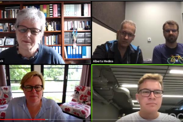 Panel SnapShot: Pauli-Haack, Alberto Medina, Weston Ruter, Cathi Bosco, Pacal Birchler