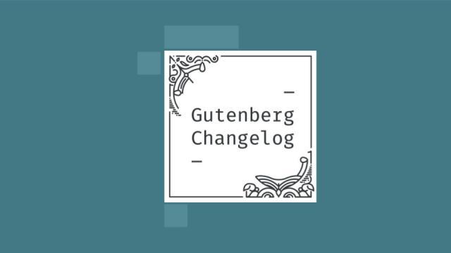 Gutenberg Changlog Episode 43 Cover