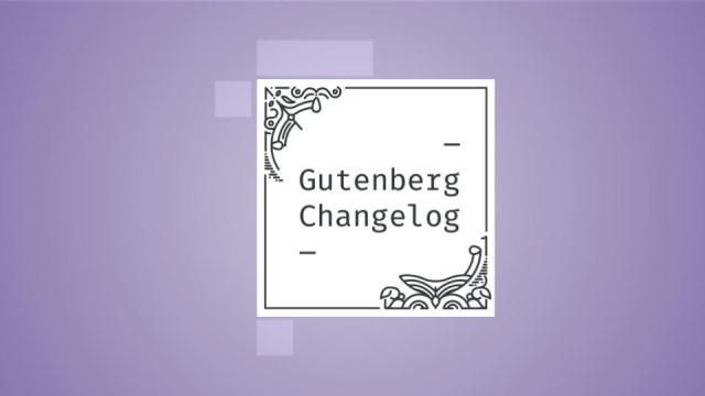 Gutenberg Changelog Episode 42 Cover