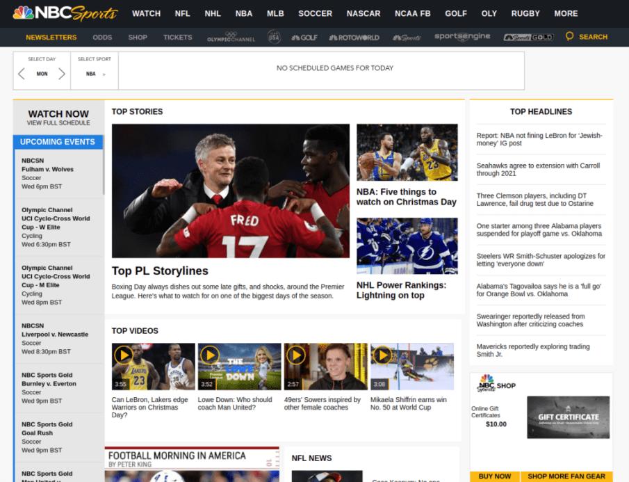 NBC Sports | Gutendev | WordPress websites with Gutendev | New WordPress | WordPress Tutorials | Plugins WordPress