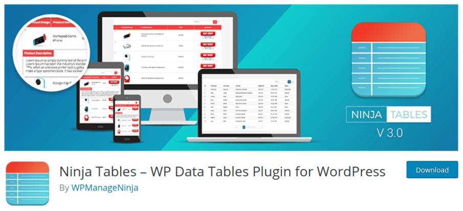 ninja tables wordpress table editor easy table wordpress wordpress table generator wordpress table search wordpress table without plugin wordpress table post plugin wordpress table grid plugin