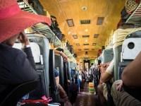 Im Zug in Vietnam
