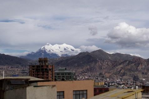 La Paz mit Hausberg