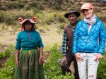 Feldarbeit in Capachica, Peru.