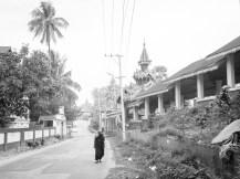 Mönch unterwegs