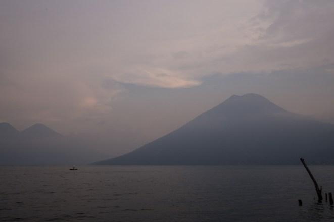 Aussicht von San Marcos auf den Vulkan San Pedro
