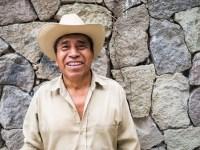 Stolzer Maya-Mann in Guatemala