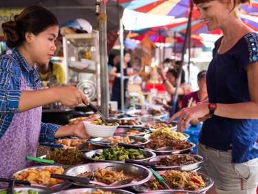 Dank Intuition gefunden: Strassenküche in Thailand