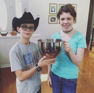 Rachel, winner of Cupcake Wars Kids