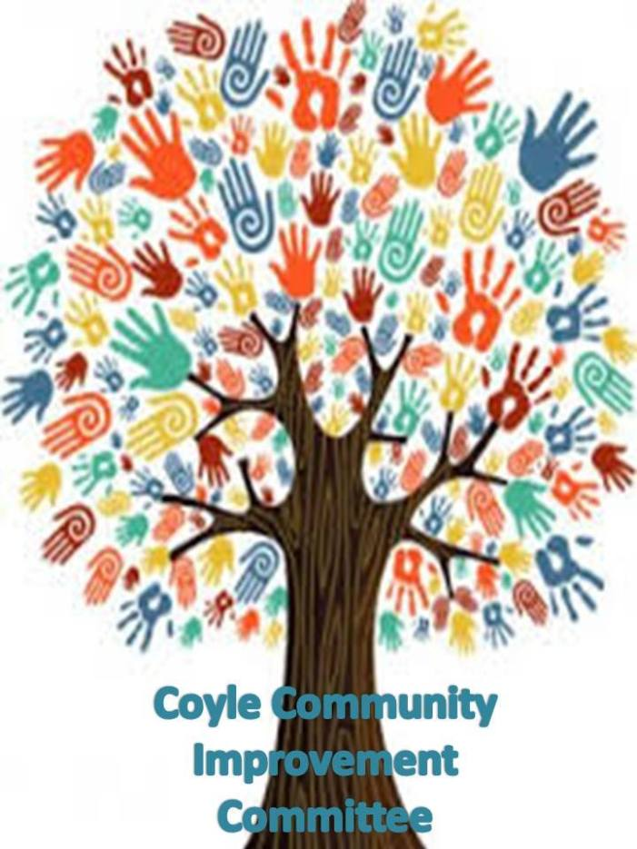 Town of Coyle Community Improvement Committee to paint local home