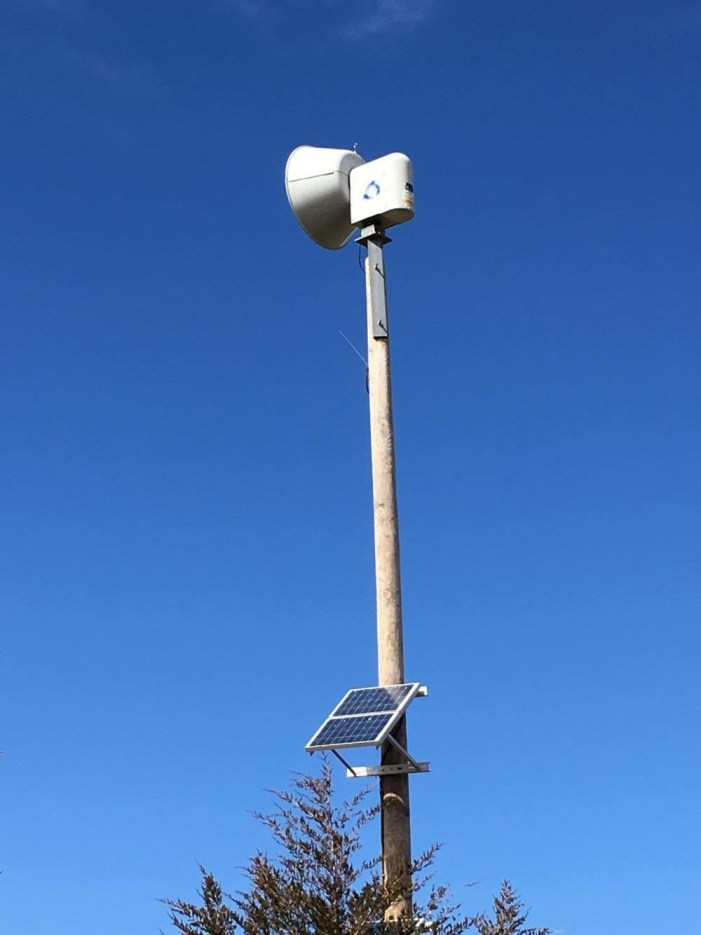Logan County officials announce plans to fix broken storm sirens
