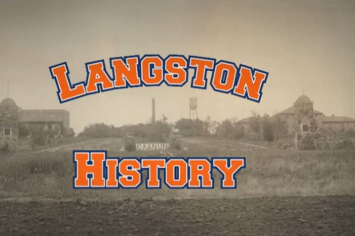 "Video: OETA features Langston University with ""Back in Time"""