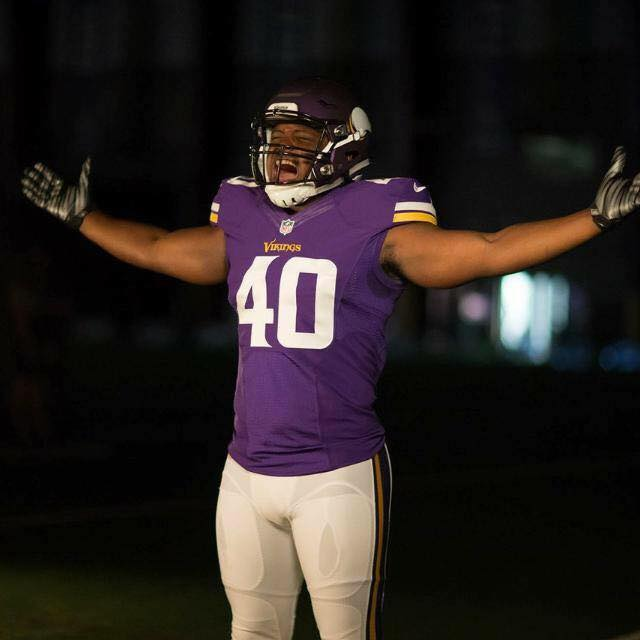 Kentrell Brothers makes Guthrie history by playing in NFL game