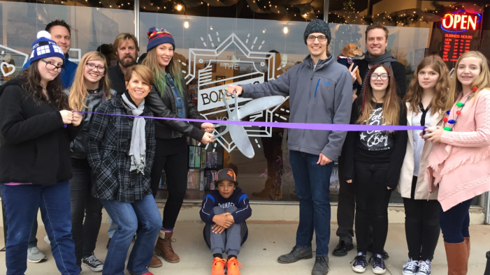 The Boarding House has ribbon cutting; over 350 games