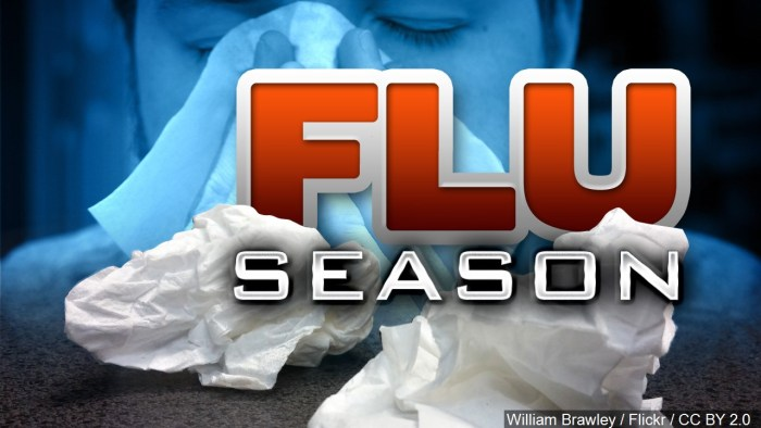 OSDH: 15 flu cases resulting in hospitalization in Logan County