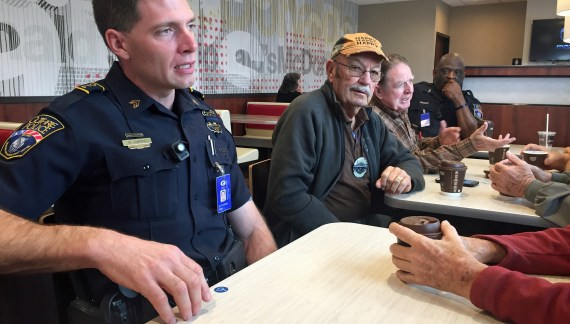Video: McDonalds partners with Guthrie Police Department for Coffee with Cops