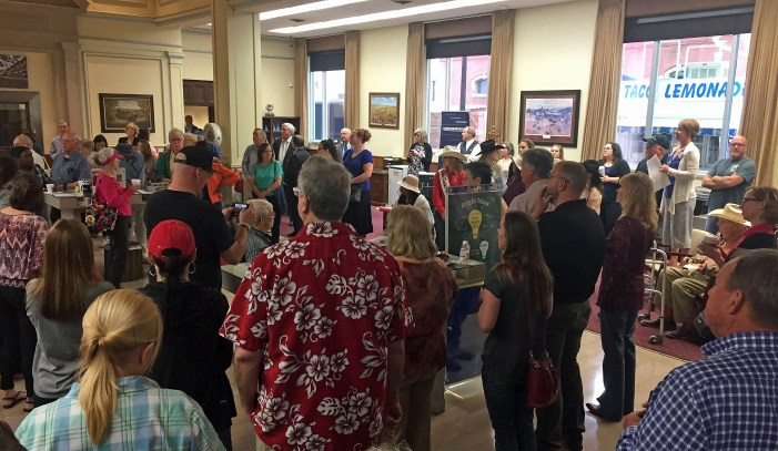 BancFirst hosts large turnout for Chamber Coffee on 89er's Week