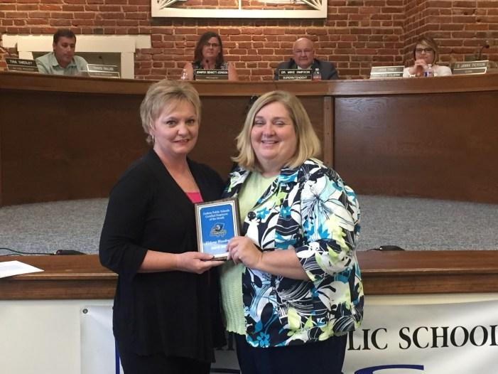 Eldona Woodruff named GPS certified employee of the month