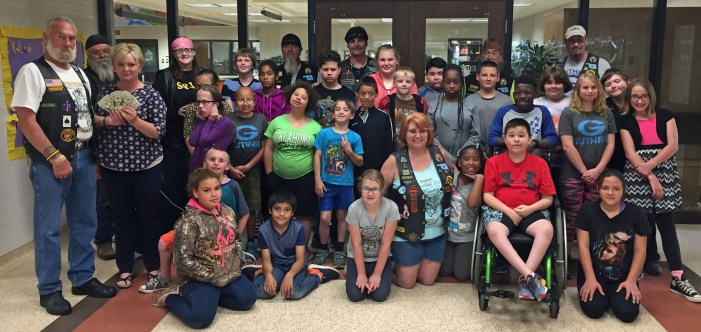Territorial Riders donate $2,150 to Special Olympics