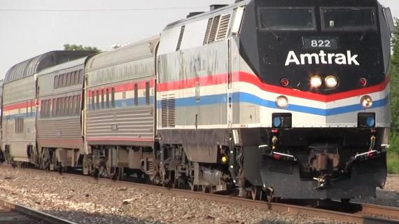 Video: Amtrak makes it way through Guthrie; hopes to restore service to KC