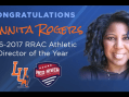 Langston University's Donnita Rogers named RRAC Athletic Director of the Year