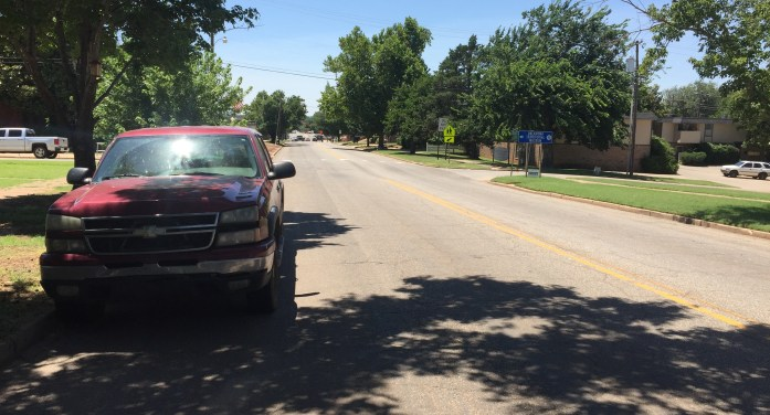 Parking along east Noble Ave. will be going away