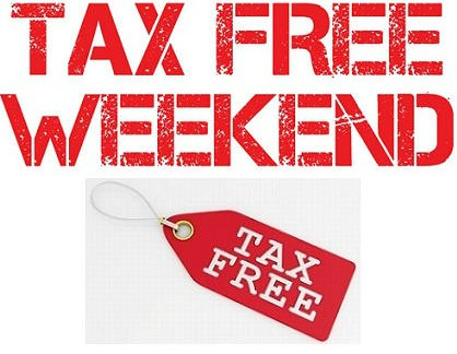 2018 tax-free weekend is here; list of tax exempt items